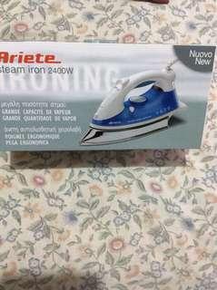 Ariete steam iron 2400w, blue