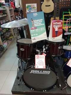 Cicilan Tanpa Kartu kredit Drum Band