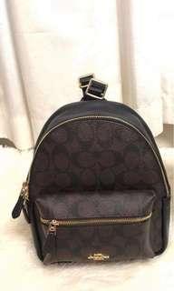 Original coach mini charles backpack
