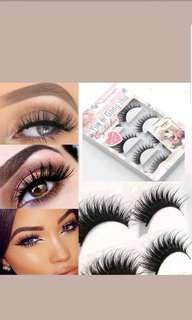 5 pairs of lashes