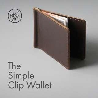 🚚 The Simple Clip Wallet by wwbtt