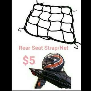 Rear Seat Strap/Net for Bike
