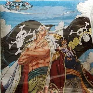 One piece plastic poster 海賊王 白鬍子 羅傑 塑膠海報
