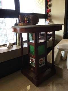 Antique Peranakan Marble table
