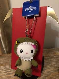Hello kitty Jurassic world key holder