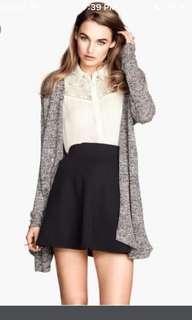 H&m grey knit cardigan