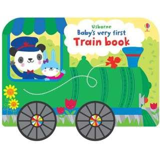 🚚 (BN) Usborne: Baby's Very First Train Book