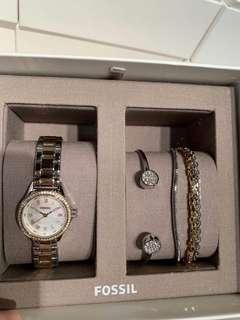 Fossil手錶禮盒組