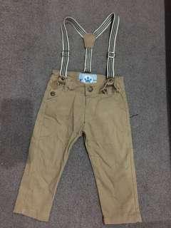 Suspander pants baby