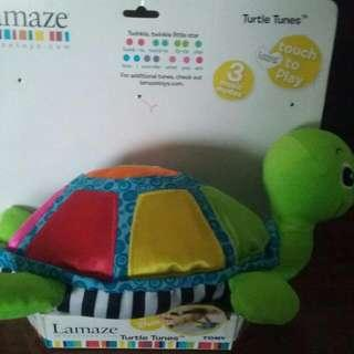 Lamaze Turtle Musical Toy