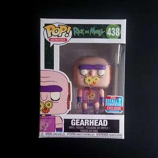 Gearhead funko pop NYCC 2018