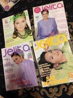 Majalah JELITA ( Cover DATO SITI NURHALIZA )