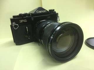 🚚 Canon F-1+FD35-105mm鏡頭