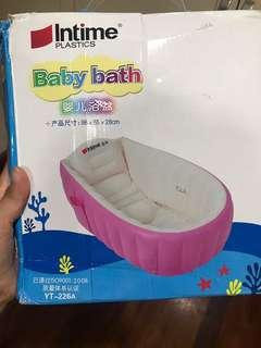 New baby bath tub inflatable REPRICED!