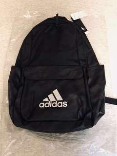 Adidas Backpack NEW 全新軍黑後背包