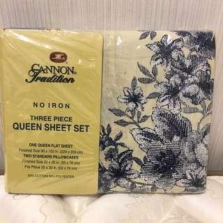 Three Piece Queen Sheet Set