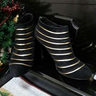 Charles & Keith Ankle Boots (size 7)