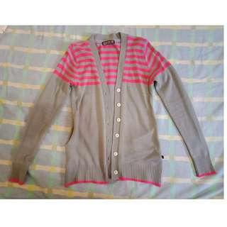 criss knitted cardigan