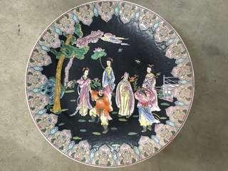 Qing Style Famille Rose Plate