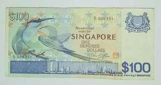 $100 bird series