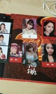 |WTS| TWICE YES OR YES PHOTOCARDS