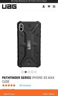 UAG Pathfinder Series for Iphone XS MAX ( Black) BNIB