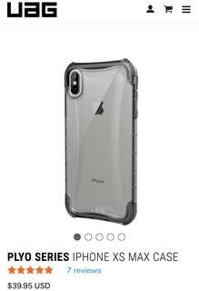 UAG PLYO SERIES ( Iphone XS MAX ) BNIB