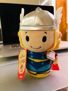 Thor plush marvel hero soft toy