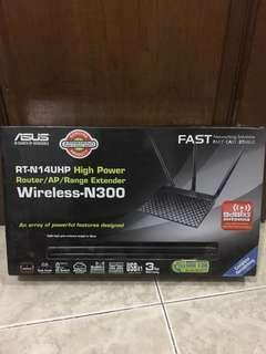 Wireless Asus RT-N14UHP new