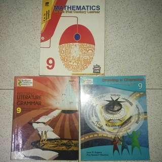K-12 Grade 9 Textbooks FOR SALE