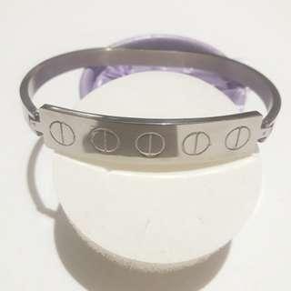 Stainless Steel Cartier Inspired Bracelet for Men