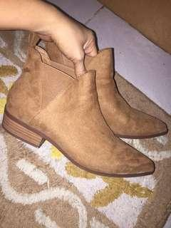 Forever 21 mid cut boots