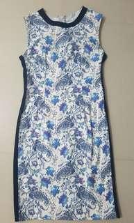 Semi-formal floral dress