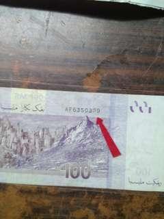 Malaysia $100