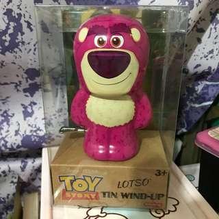 勞蘇鐵皮行路公仔 lotso Toystory