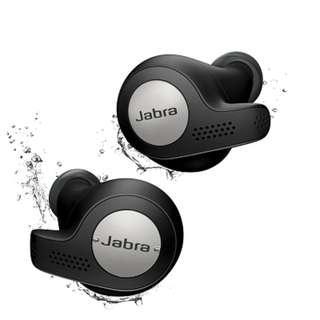 Jabra Elite Active 65t True Wireless Earphones (Titanium Black)