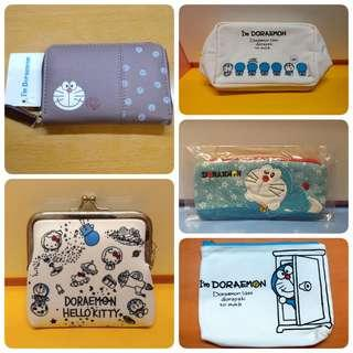 [New] Doraemon 叮噹/哆啦A夢 萬用袋/銀包/筆袋