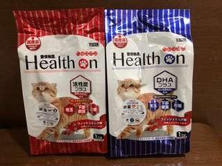 Health on cat food