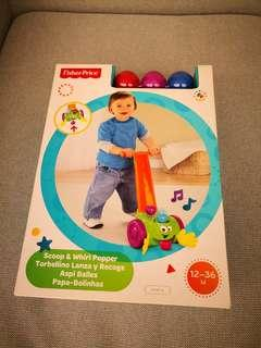 Brand new Fisher Price Scoop&Whirl Popper