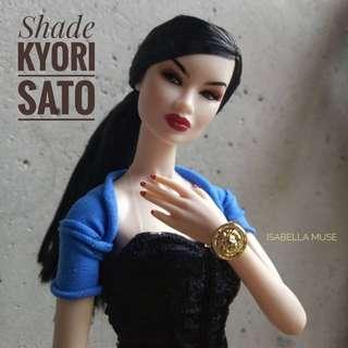 Shade Kyori Sato Fashion Royalty Supermodel Convention 2016 Integrity Toys