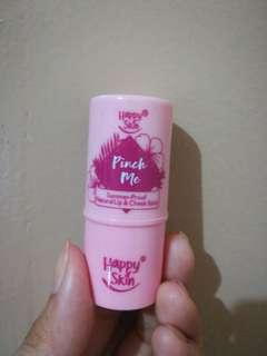 Happy Skin Pinch Me Summer Proof Natural Lip/Cheek Stain in Berry Shade