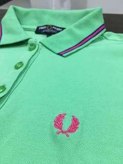 100% Authentic Fred Perry Polo Shirt