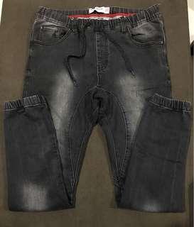 Cotton On Denim Washed Jogger Pants