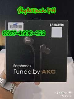 Samsung AKG earphones with mic and volume control compatible in all unit