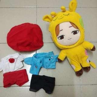 Bts Chimchim cow doll version 2