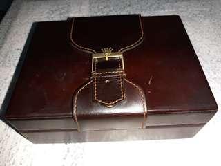 Vintage old Rolex president brown box