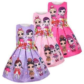 (Pre-order) LOL Princess Dress (3 Colours) #602