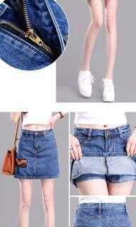 Fast deal Brand new Skirt jeans/short jeans