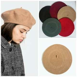 BRAND NEW!!! Wool Beret Hats