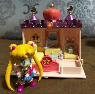 絕版📣90年代美少女戰士🌙城堡模型玩具收藏品